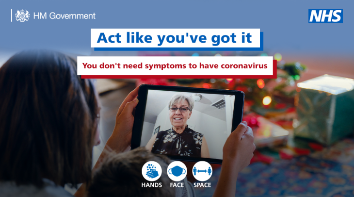 coronavirus - act like you've got it